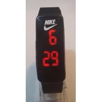Relogio Barato Infantil Nike Led Bracelete Pulseira Silicone