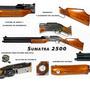 Rifle Sumatra 2500 500 Cc Cal 5,5 Y 6,35 M Municiones Gratis