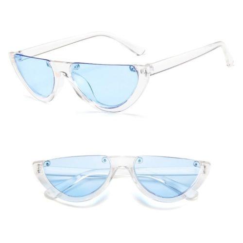 Nuevo Half Frame Gato Ojo Gafas De Sol... (clear Blue) -   32.990 en Mercado  Libre 9f042fcc1ef3
