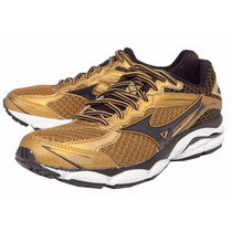 Tênis Mizuno Wave Ultima 7 Golden Runners - Dourado