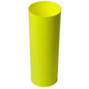 074a0baa3 Copo Long Drink Amarelo Neon 400ml Para Sublimação - R  9