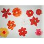Flores De Tela Para Manualidades Y Demas