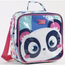 Lancheira / Bolsa Termica Nylon Com Gel Panda - Puket