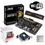 Kit Asus Am1m-e + Athlon 5150 Quad + 8gb Hiperx + Wifi