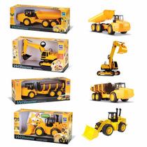 Kit Roma Workers Construção Máquinas Caminhões Com Movimento