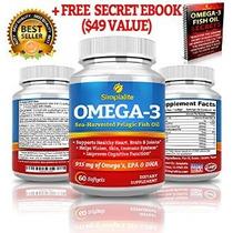 Simplalite Aceite De Pescado Omega 3 (60 Cápsulas) Viene Con