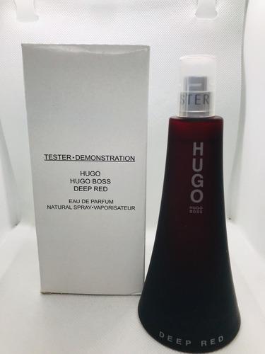 6dfac54edca7a Hugo Boss Deep Red Feminino Eau De Parfum 90ml - Tester - R  214,90 ...