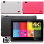 Tablet Android Pc 7 Wifi 2 Camaras Con Flash Quad Core Nueva