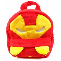 Mochila Homem De Ferro Infantil Escolar Herói Vingadores