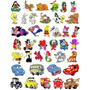 700 Mil Matrizes Bordados Em Jef E Dst Coleção + Disney