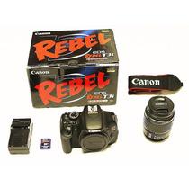 Canon Eos Rebel T3i 18mp Lente 18-55mm Memoria 8gb En Caja.