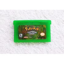Pokémon Leaf Green - Gba