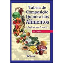 Tabela De Composição Químicas Dos Alimentos 9 Edição,nutriçã