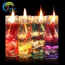 Vela Aromatica Em Vidro Gel De Cera 12 Velas, Ñ Vela De Led