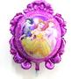 Globo Metalizado De Princesas Disney 65cm Somos Tienda