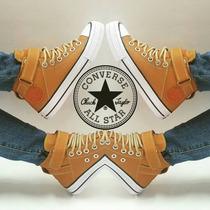 Converse All Star Bota En Cuero Usa