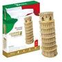 Puzzle 3d Torre De Pisa Grande Leaning Tower Italia 30 Pç
