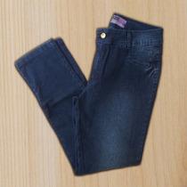 Calça Jeans Feminina Tamanho Grande Com Lycra Cintura Alta