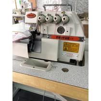 Maquina De Coser Para Confeccion Overlock De 5 Hilos Feiyue