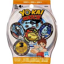Yo-kai Yo Kai Yokai Watch Medallas Serie 4 Empaque Individua