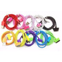 Cabo Usb Iphone Dados Nylon| 2 Metros Ipad Ipod 3g 3gs 4g 4s