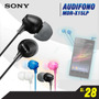 Audifono Sony Mdr-ex15lp Estéreo,ideal Xperia,galaxy, Iphone