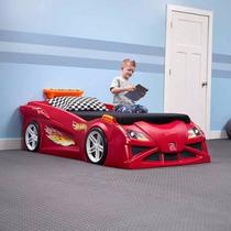 Cama Carro Hot Wheels Convertible Niño Cama Individual