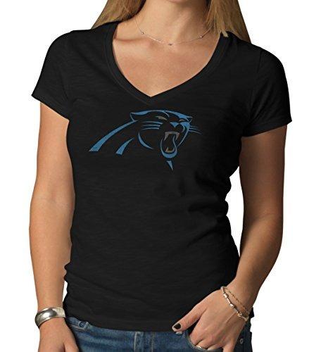 Camiseta De Mujer Nfl Carolina Panthers  47 Con Cuello En V eb8ca89ba5d