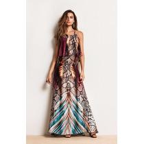 Vestido Morena Rosa Original Longo