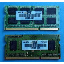 2 Pentes De Memoria Ddr3 2gb + 1gb Smart (notebook)