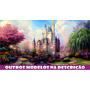 Painel Decorativo Festa Lona Banner Castelo Disney 2 X1m