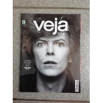 Revista Veja David Bowie Messi Donald Trump Ano 2016 Capa 4