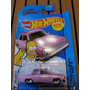 Hot Wheels Os Simpsons Family Car E The Homer Carro Rosa