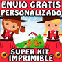 Kit Imprimible Gauchos (nena) Personalizado Gratis Candy Bar