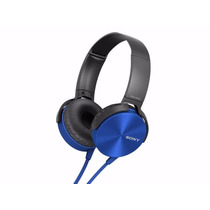 Audifonos Con Diadema Sony Extra Bass Manos Libres-azul
