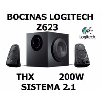 Bocinas Logitech Z623 Thx Sistema 2.1 Canales 200w Rms