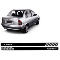Adesivo Faixa Lateral Corsa 2 Ou 4 Pt 94/15 Sedan E Classic
