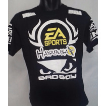 Camisa Camiseta Bad Boy Shogun Jiu Jitsu Hayabusa Ea Sports