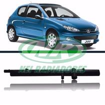 Caixa Do Radiador Do Peugeot 206 Com 2 Canos Inferior