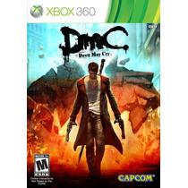 Dmc Devil May Cry (mídia Física Com Dlc´s) - Xbox 360 (novo)