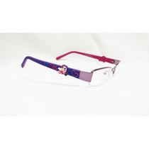 Armacao Oculos Grau Infantil Menina Crianca Moda Lilas Otica