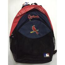 Bolso Morral Escolar Malla Beisbol Mlb Cardinals