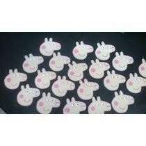 Figura De Peppa Pig De Goma Eva X 10u.