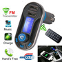 Manos Libre Bluetooth Reproductor Mp3 Transmisor Fm
