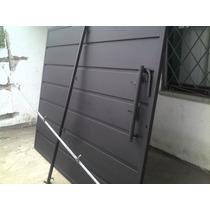 Porton Corredizo+puerta Chapa 20 (2.40x2.00)