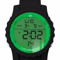 Relógio Digital Esportivo 18k Watches Los Angeles Palmeiras