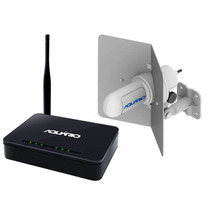 Kit Internet Rural Antena + Cabos Roteador Wifi Frete Grátis