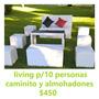 Alquiler Living,carpas,gazebos,inflables Y Juegos Zona Norte