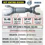 Kit Entre Eixos Iveco Stralis 420/440 Volvo Fh440/520/560