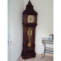 5340 Relógio De Chão Pedestal Novo Carrilhão Herweg